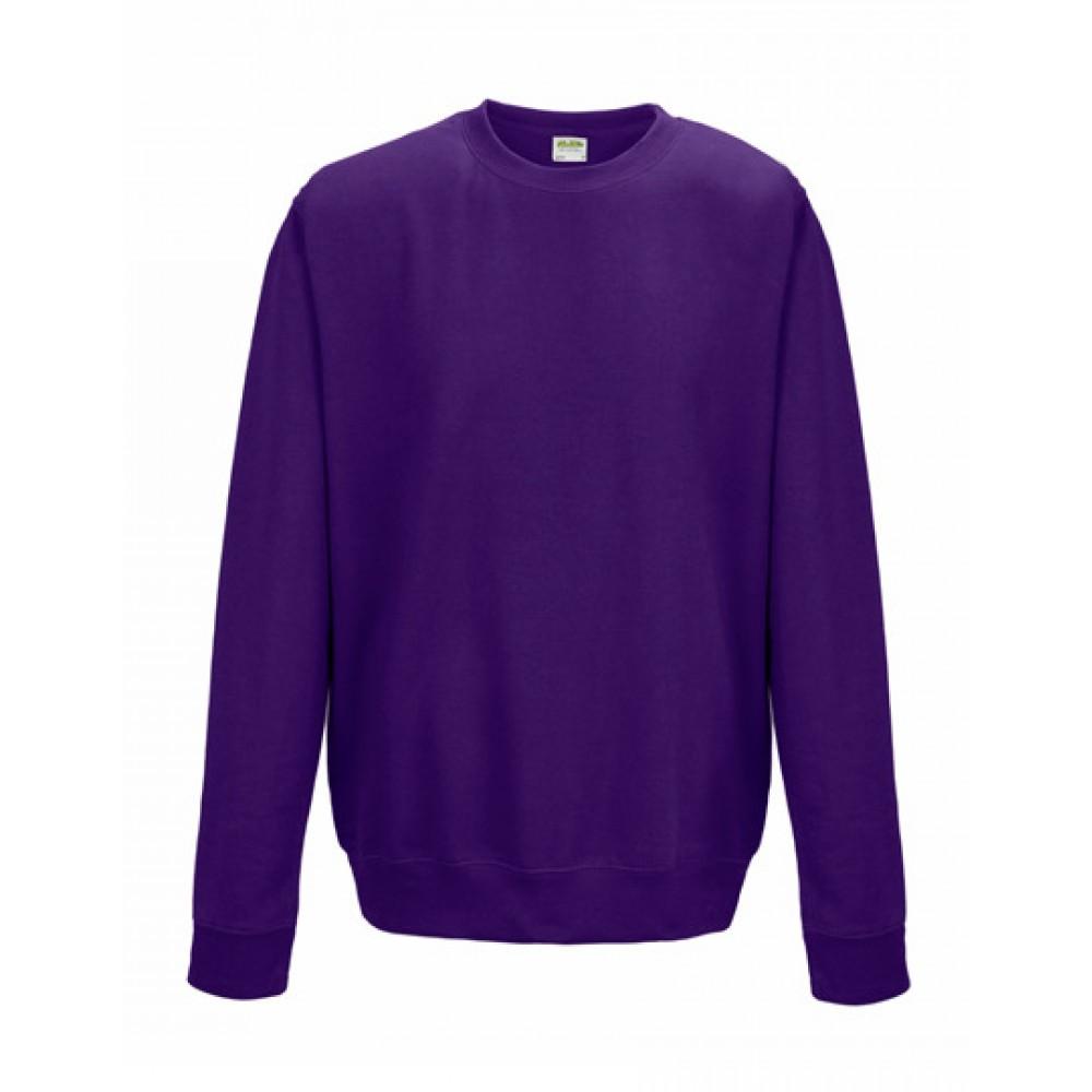 AWS Just Hoods Collegepaita Purple