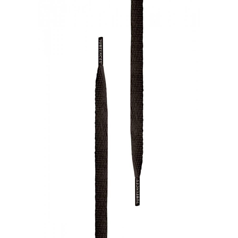 Tubelace Flat Kengännauhat Musta