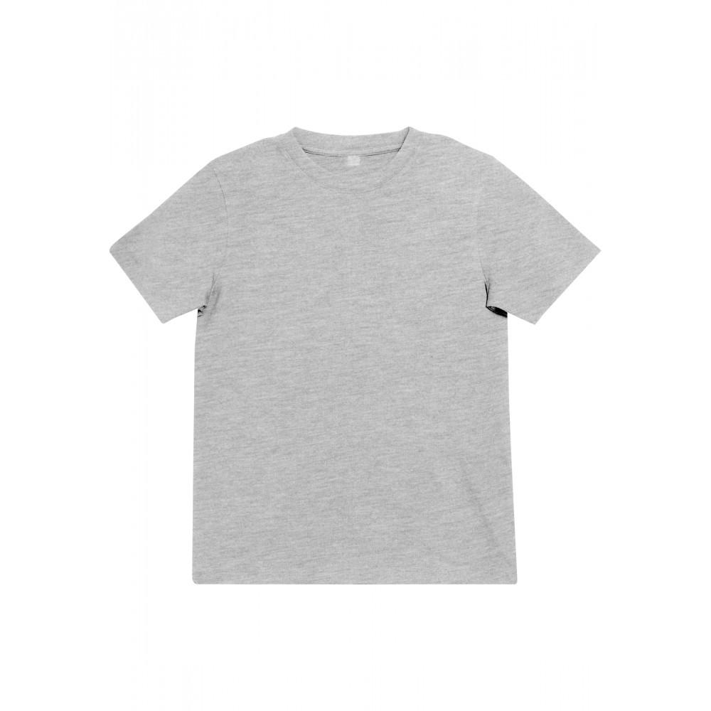 Lasten yksivärinen Blanko T-paita Heather Harmaa