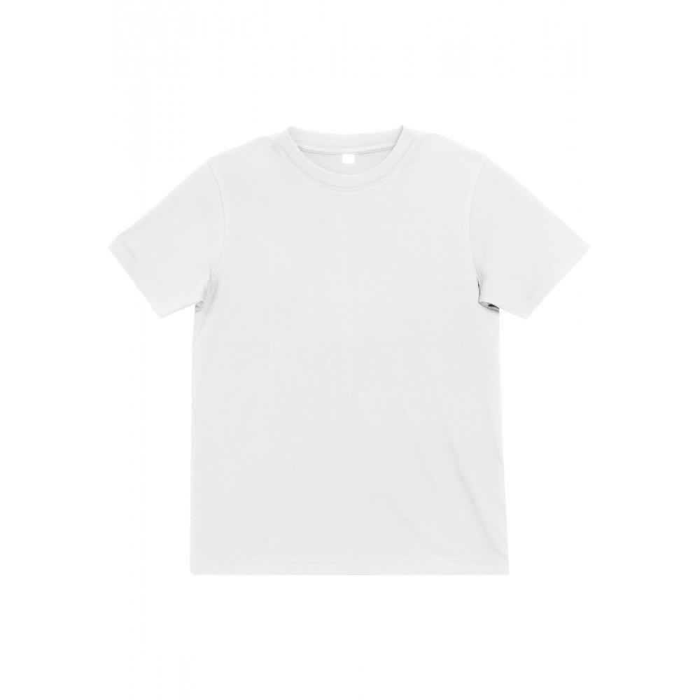 Lasten yksivärinen Blanko T-paita Valkoinen