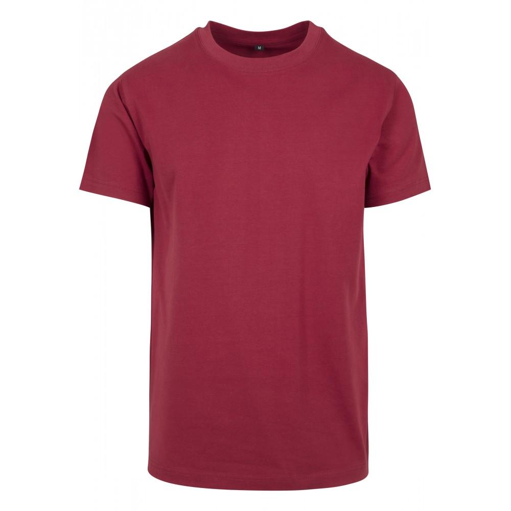 O-aukoinen T-paita Burgundy