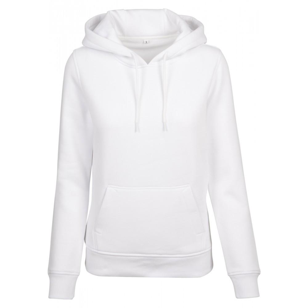 Ladies Organic Hoody Valkoinen