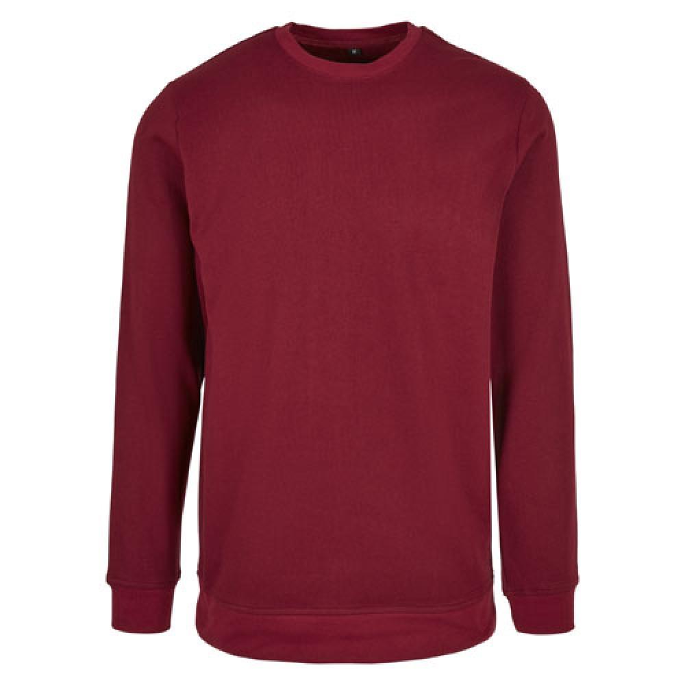 Basic Crewneck Shirt Burgundy