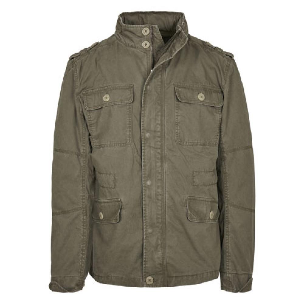 Britannia Jacket Olive