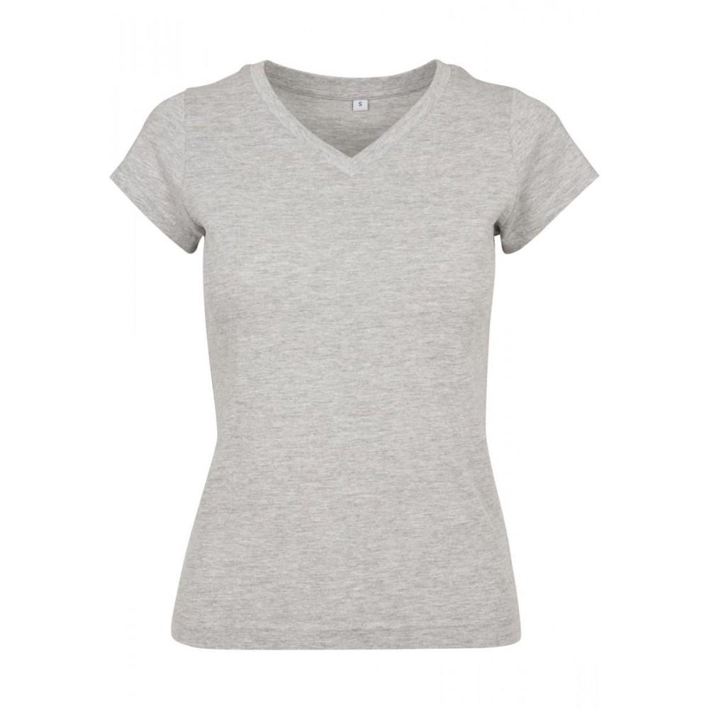 Naisten Basic T-Paita Heather Harmaa