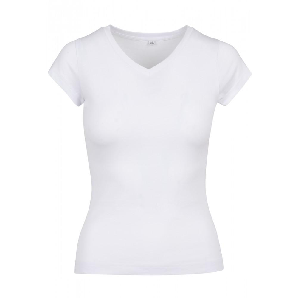 Naisten Basic T-Paita Valkoinen