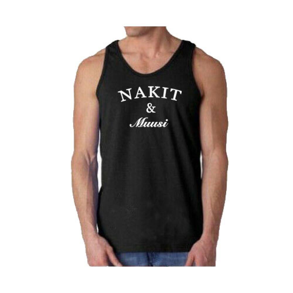Nakit & Muusi Original Logo Tank Musta