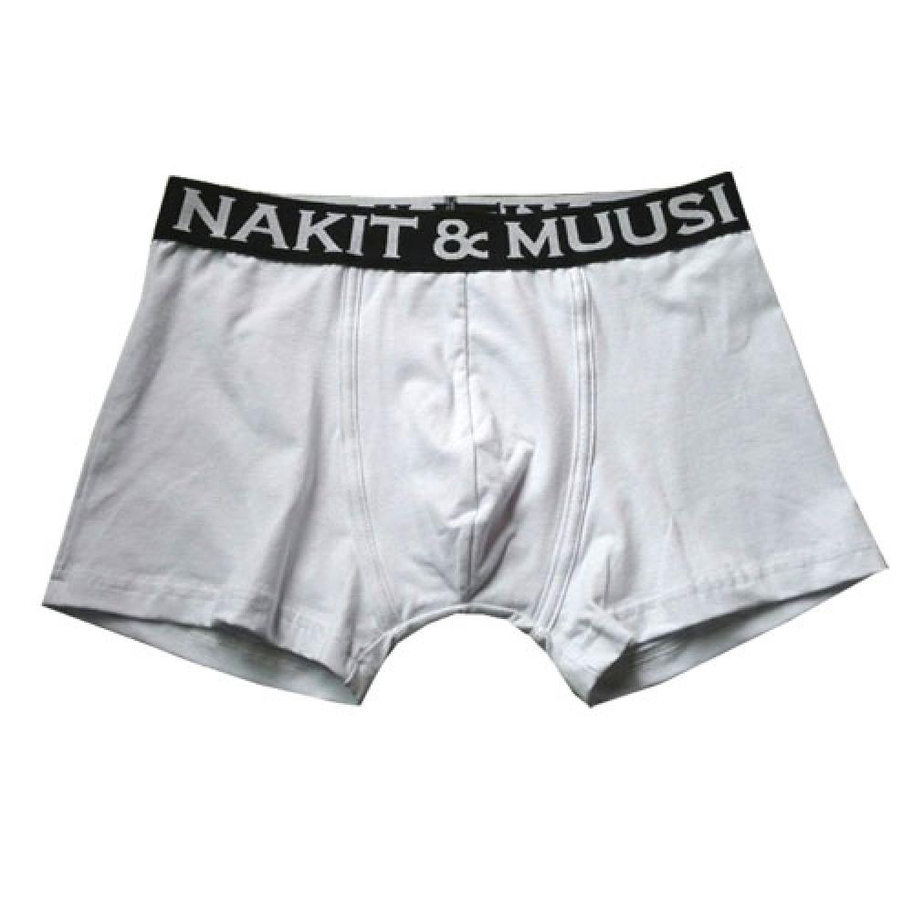 Nakit & Muusi Boxer Brief Valkoiset