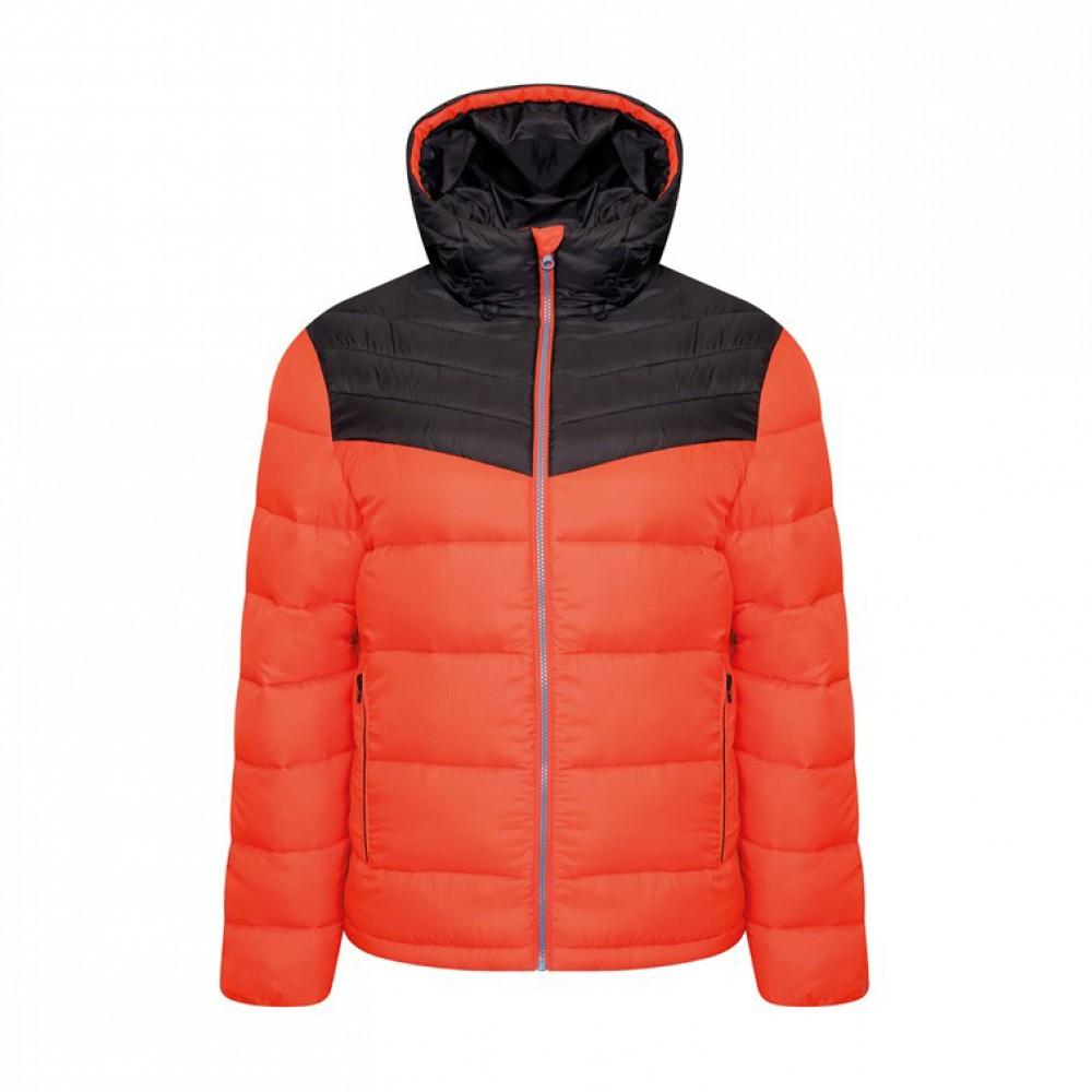 Hot shot hooded baffle jacket