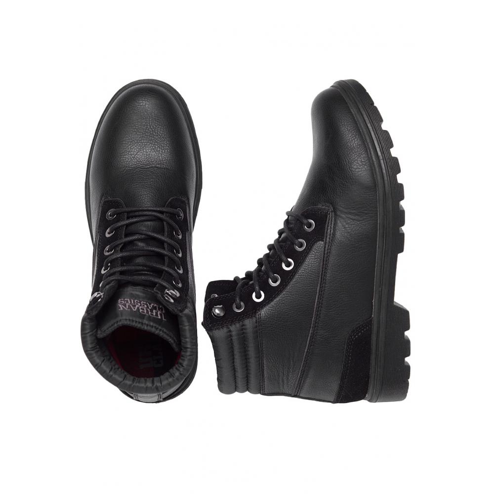Urban Classics Winter Boots Musta