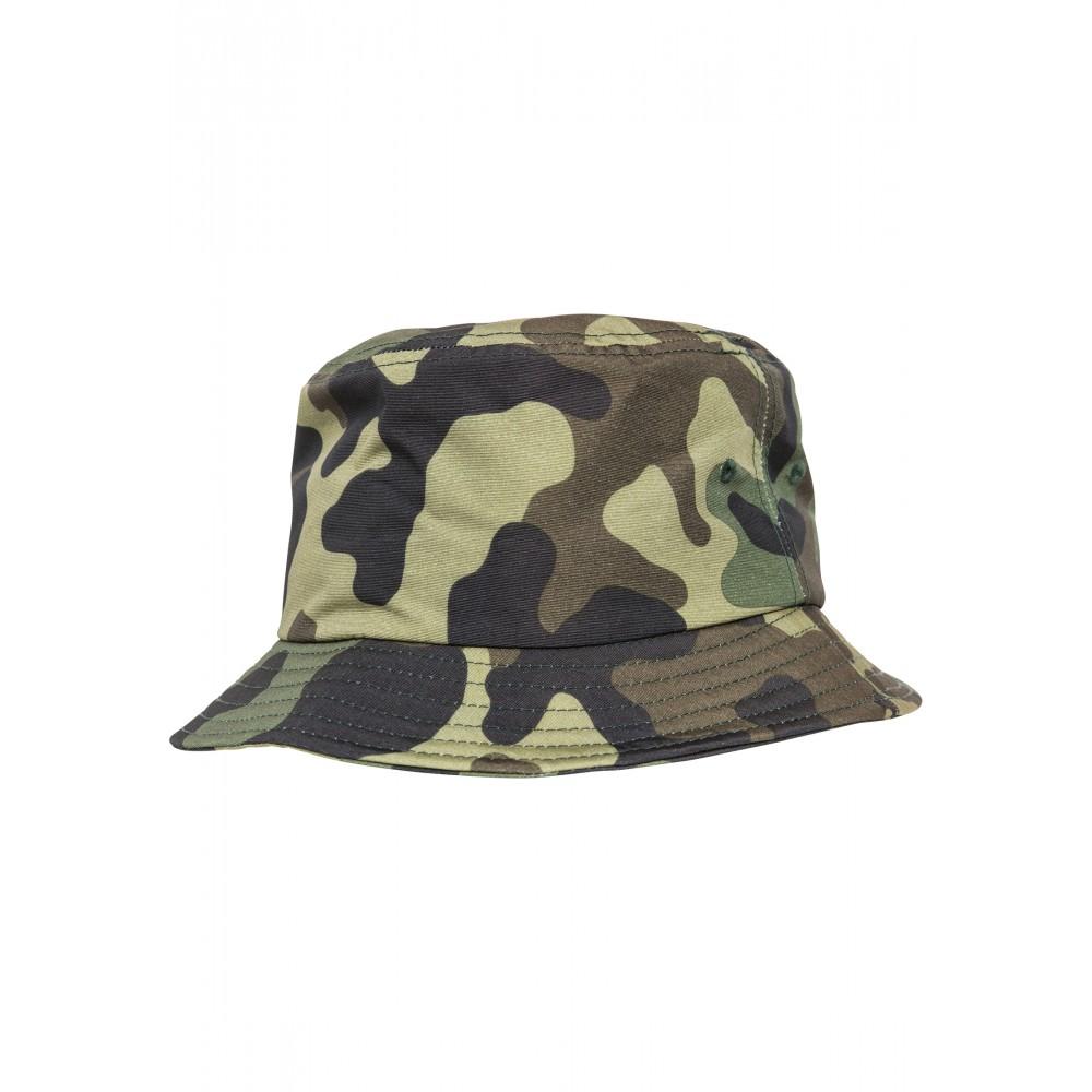 Camo Bucket Hattu