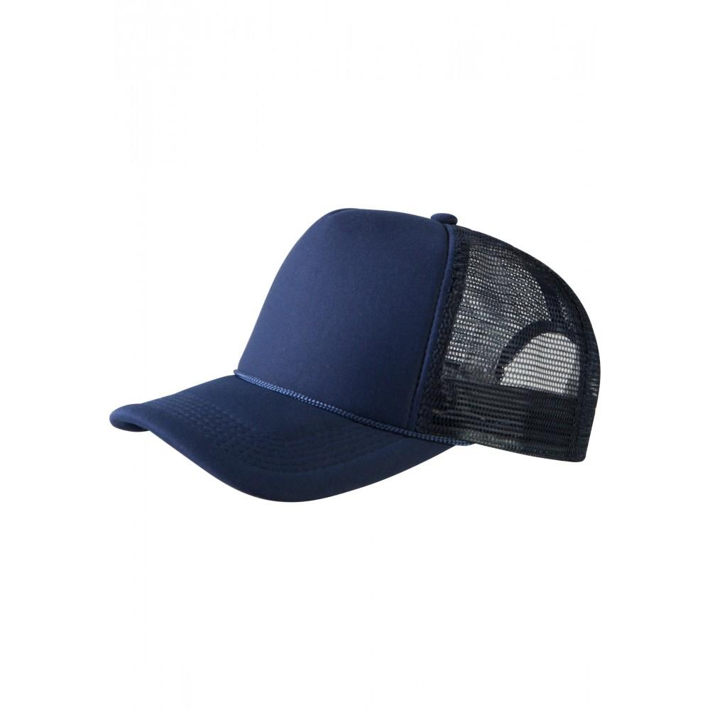 Baseball Cap Korkeaprofiili Trucker Lippis Navy