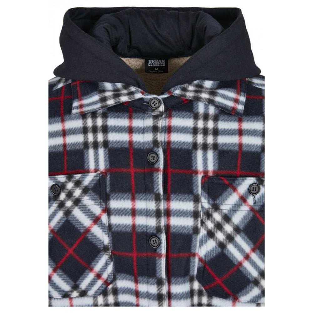 Miesten Hupullinen Polarfleece-takki